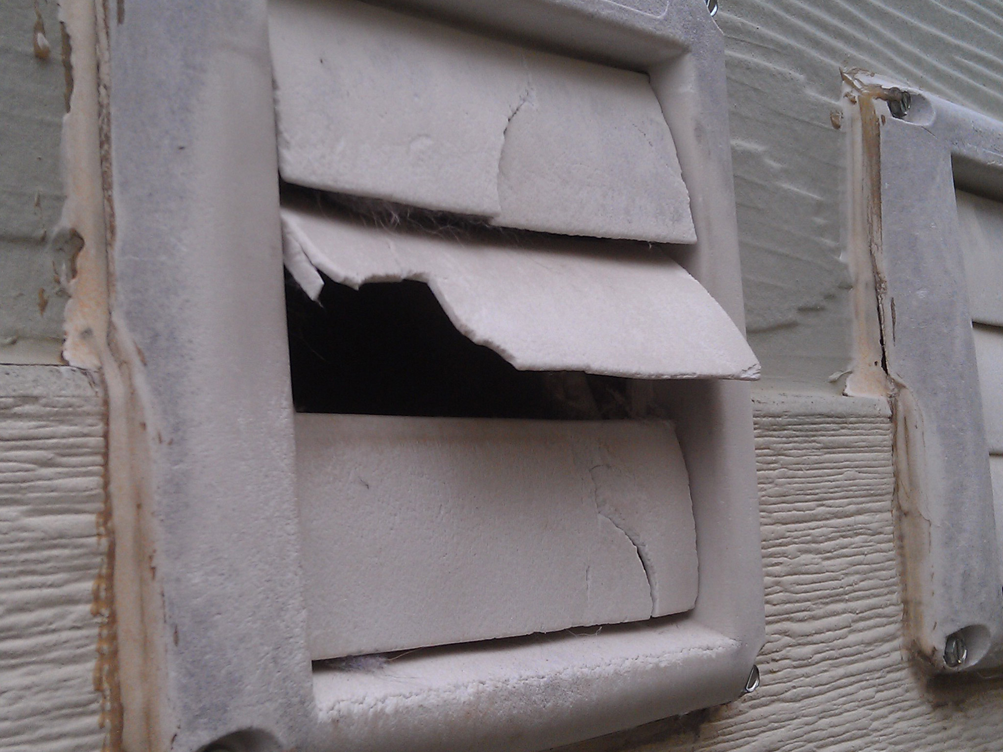 Vent Problems Photo Gallery